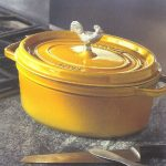 Staub Cast Iron design helps keeps the moisture inside!