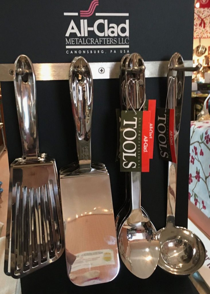 All-Clad tools for all cooks; professional to home grown!
