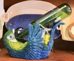 Parrot bottle holder