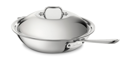 "ALL-CLAD Stainless 12"" Chef Pan with Lid"